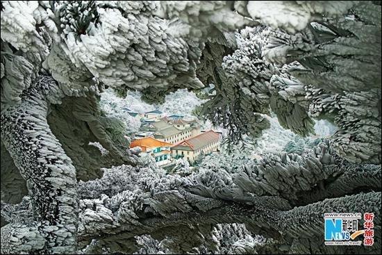 تور چین کوه هوان شن= افسانه زیبا درباره زمستان +عکس و تصویر
